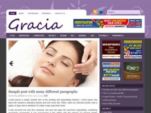 Gracia-Free-WordPress-Theme
