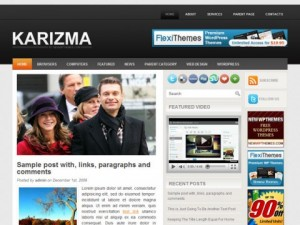 Karizma-Free-WordPress-Theme