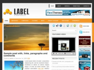 Label-Free-WordPress-Theme