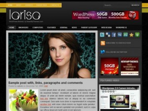 Larisa-Free-WordPress-Theme