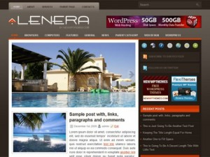 Lenera-Free-WordPress-Theme